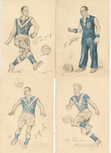 """So sahen die """"Autogrammkarten"""" anno 1950 aus!"""
