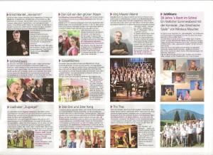 """Das Jahresprogramm 13/14 der Kleinkunstbühne """"S'Brett im Schtoi"""" in Pfaffenhofen/Roth, wo wir am 26.4.14 auftreten werden."""