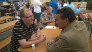 Im Gespräch mit unserem neuen Trainer Ricardo Moniz, der Fußballleidenschaft vorlebt