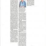 Buchbesprechung im Magazin Woche 001