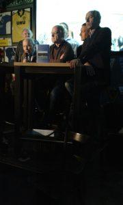 Karsten Wettberg, Roland Kneißl. Horst Schmidbauer und Reiner Maurer, im Hintergrund Franz Hell
